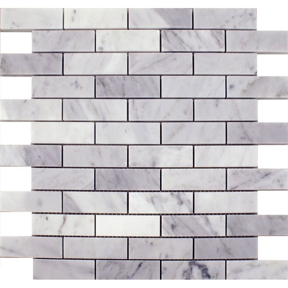 Carrara Polished Brick Tiles