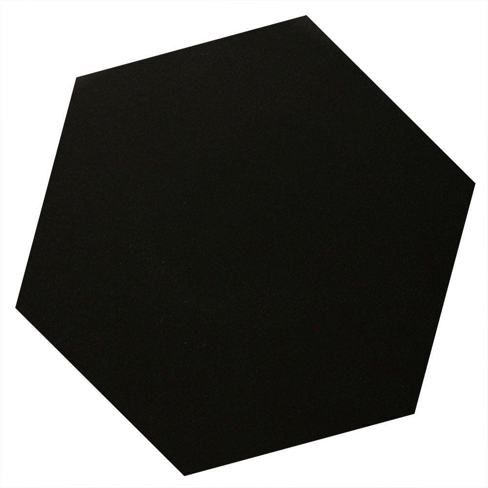 Black Hexagon Tiles