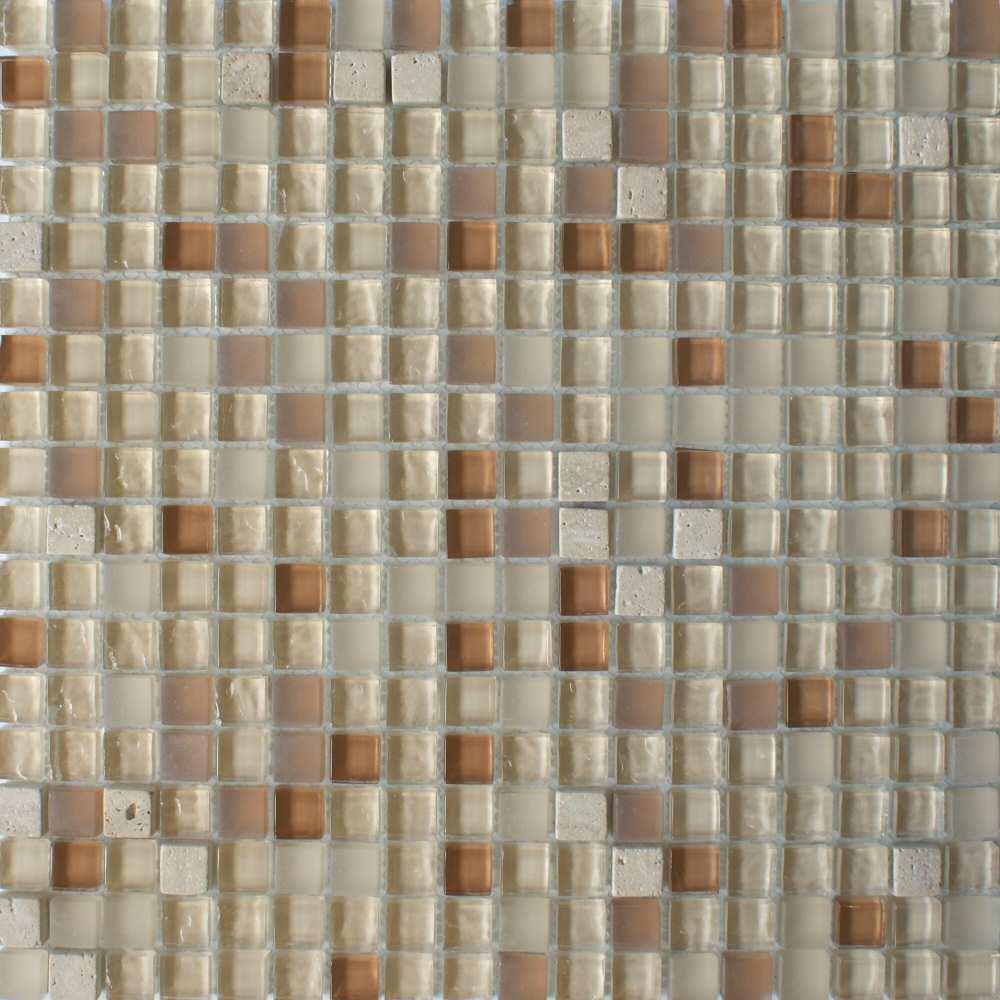 Crystal Beige Mosaic Tiles
