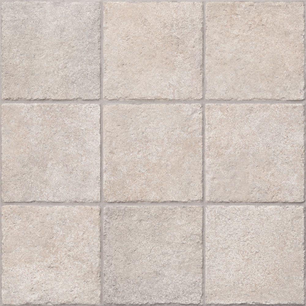Beige Plain Tiles