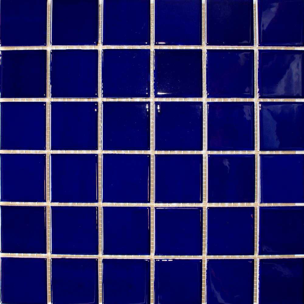 Gloss Dark Blue Tiles