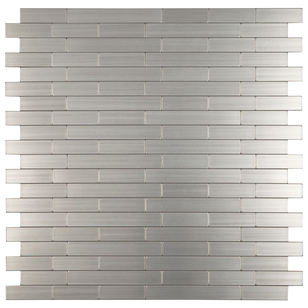 Steel Strip Mosaic Tiles