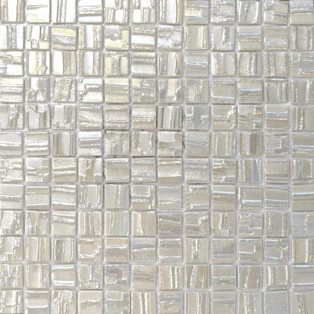 Pulsar White Mosaic Tiles