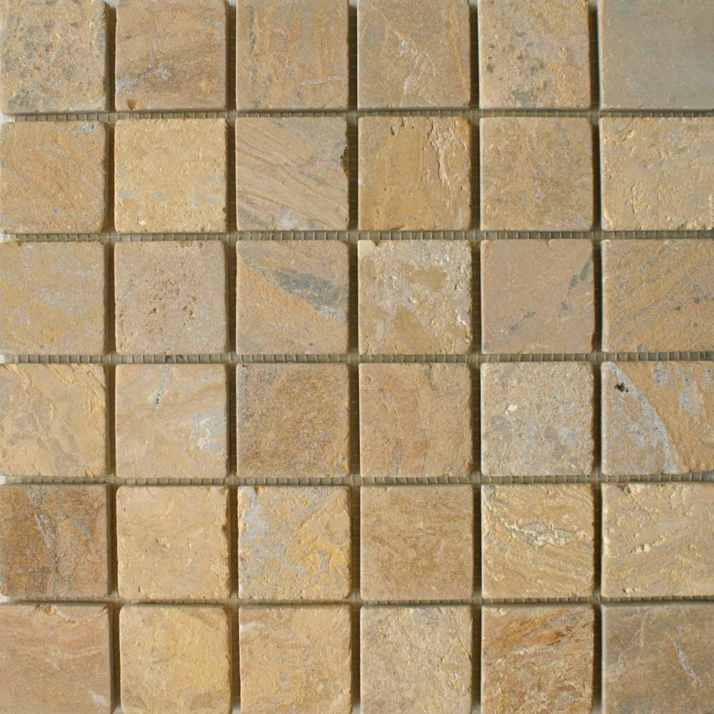 Golden Sand Square Large Tiles