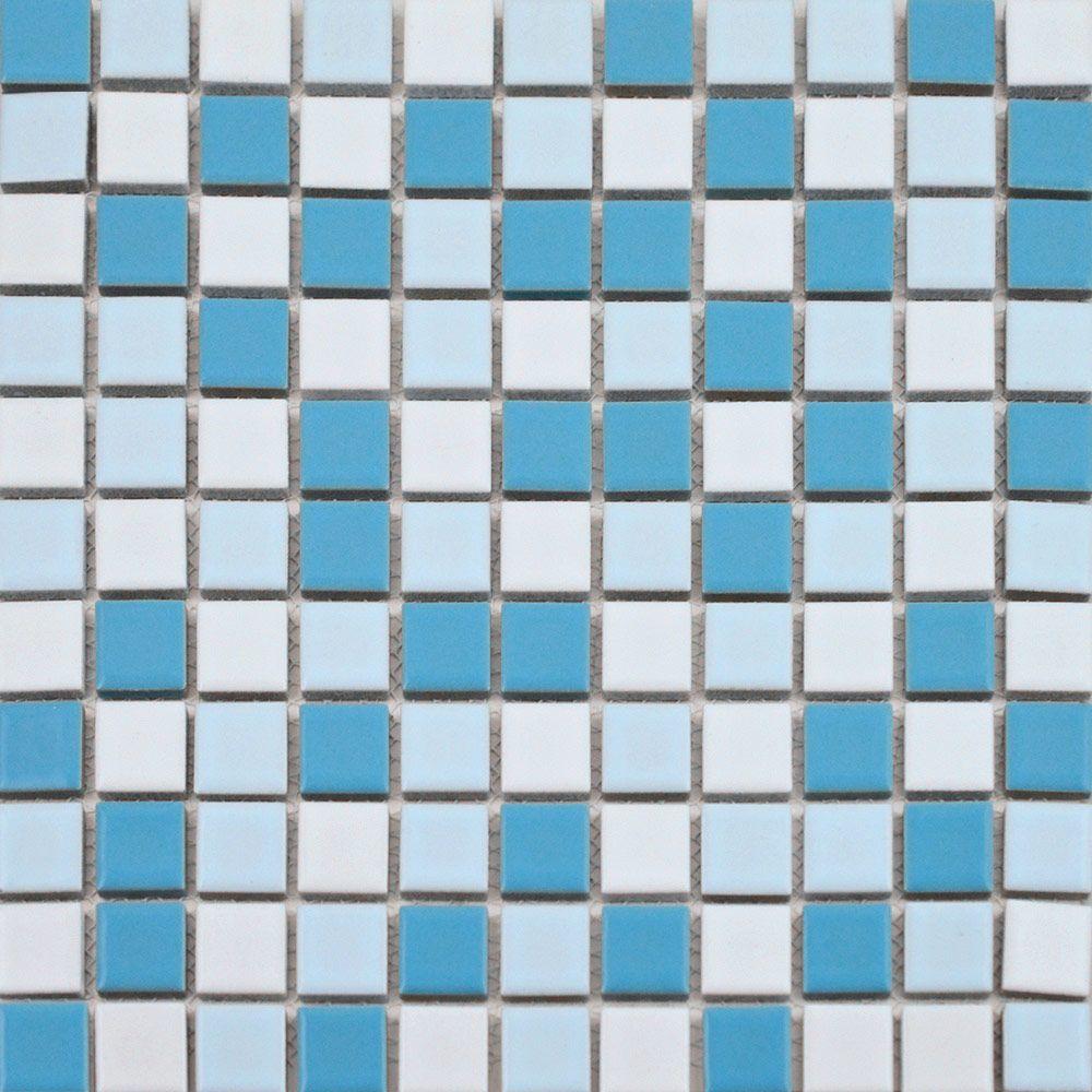 Sky Blue Mix Tiles