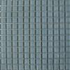 Glass Square Smoke Grey Mosaic Tiles