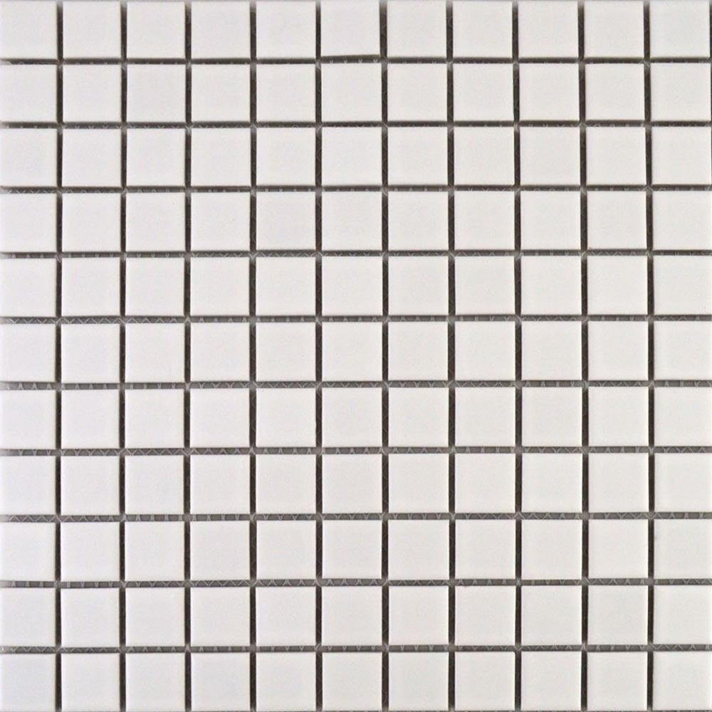 Matt White Square Small Tiles