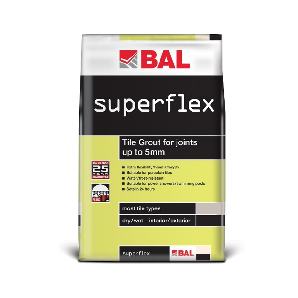Superflex Wall Grout White