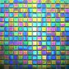 Emerald Iridescent Mosaic Tiles