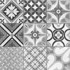 Zeinah Galena Patchwork Pattern Tiles