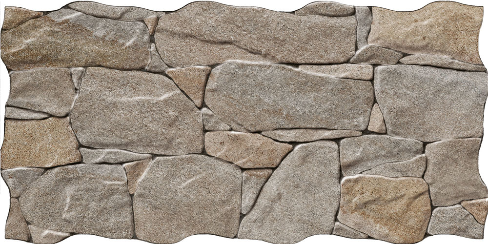Stone Effect Wall Tiles >> Stacked Iron Stone Effect Tiles | Walls and Floors
