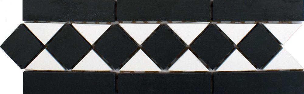 Black & White Border Tiles