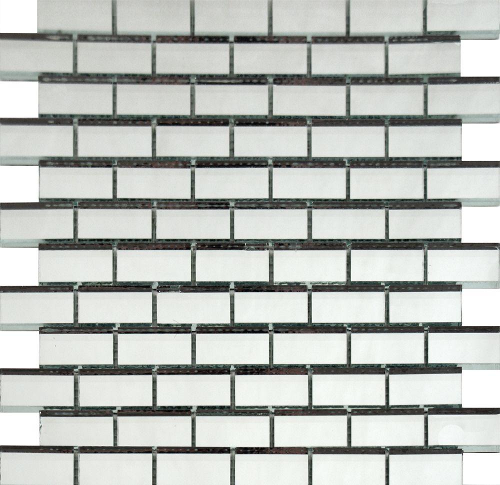 Mirror Brick Mosaic Tiles