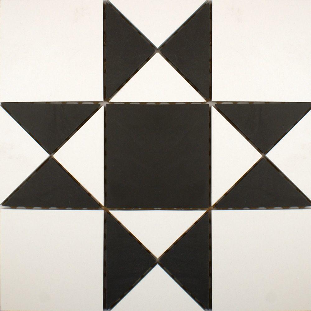 Black & White Panel Tiles