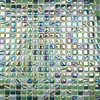 Glistening Green Mix Mosaic Tiles