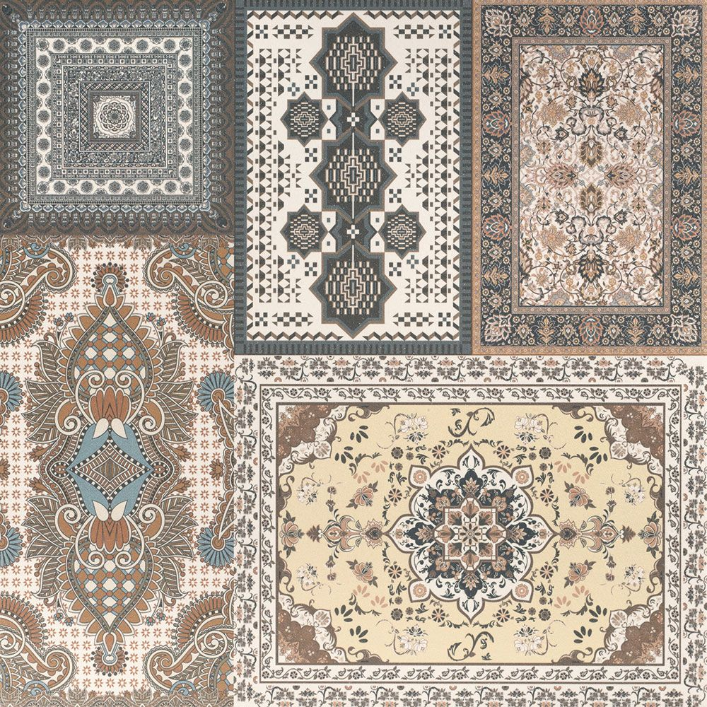 Herati Decor Matt Tiles