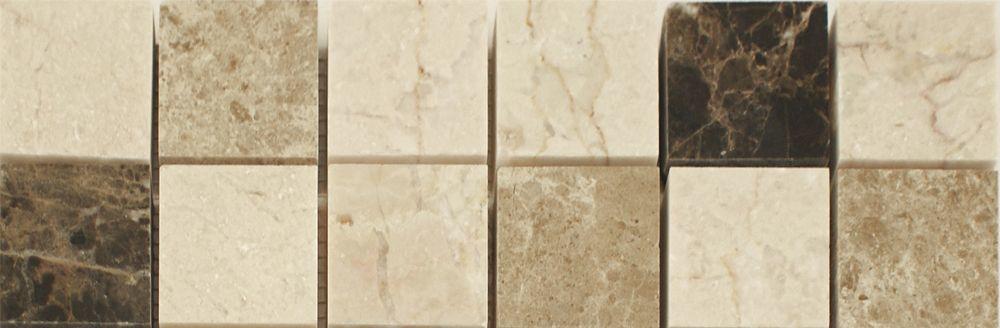 Emperador Mix Large Border Tiles