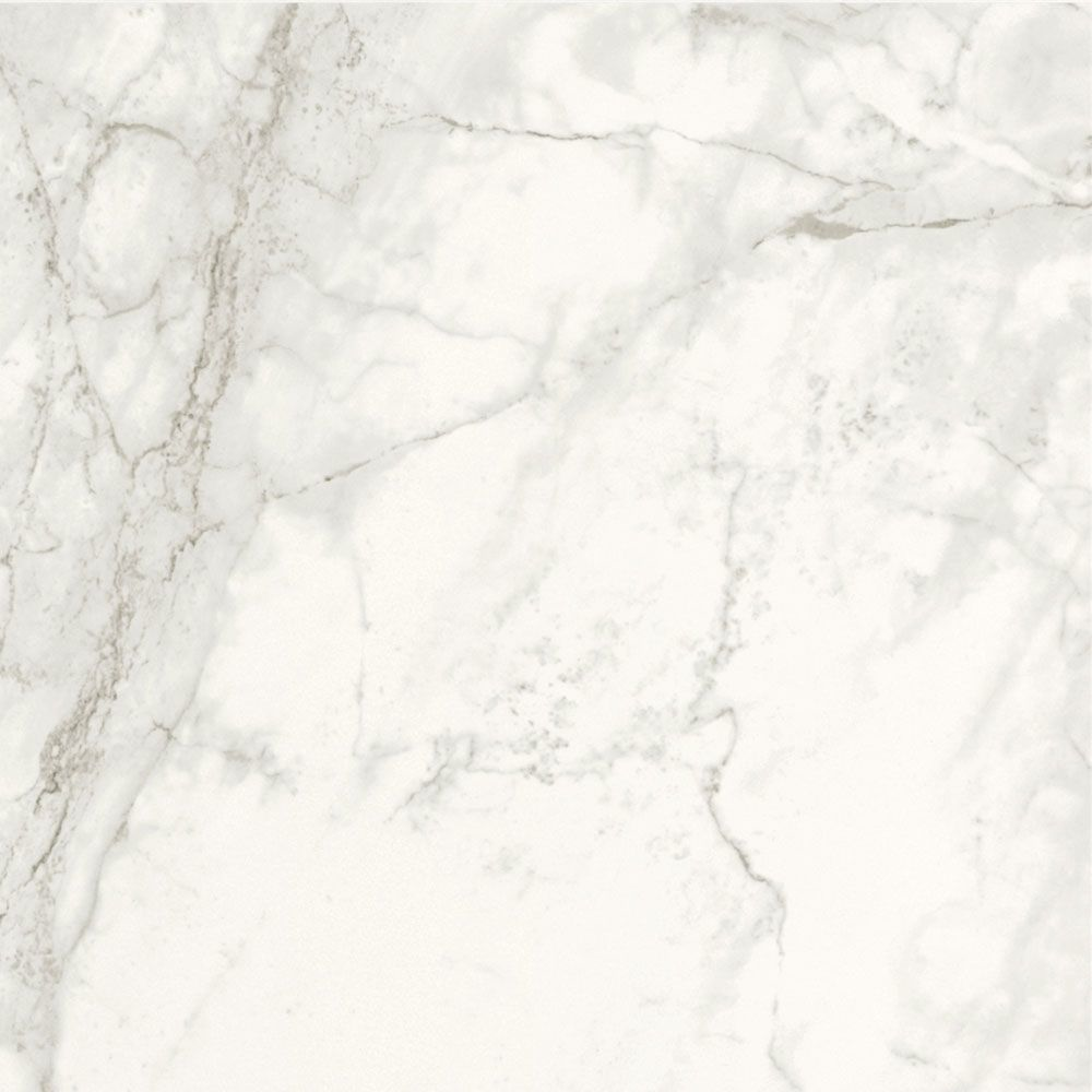 Brouille White Marble Effect 60x60 Polished Tiles