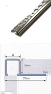 Bright Silver Trim (10mm)