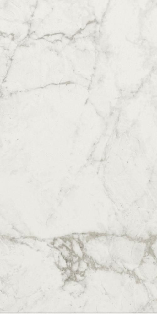 Brouille White Marble Effect 75x37 Polished Tiles
