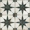 Scintilla Black Star Pattern Tiles