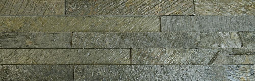 Olive Split Face Tiles