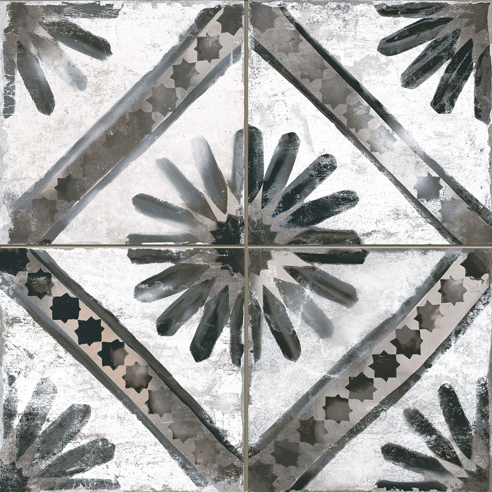 Majolica Grisaille Tiles