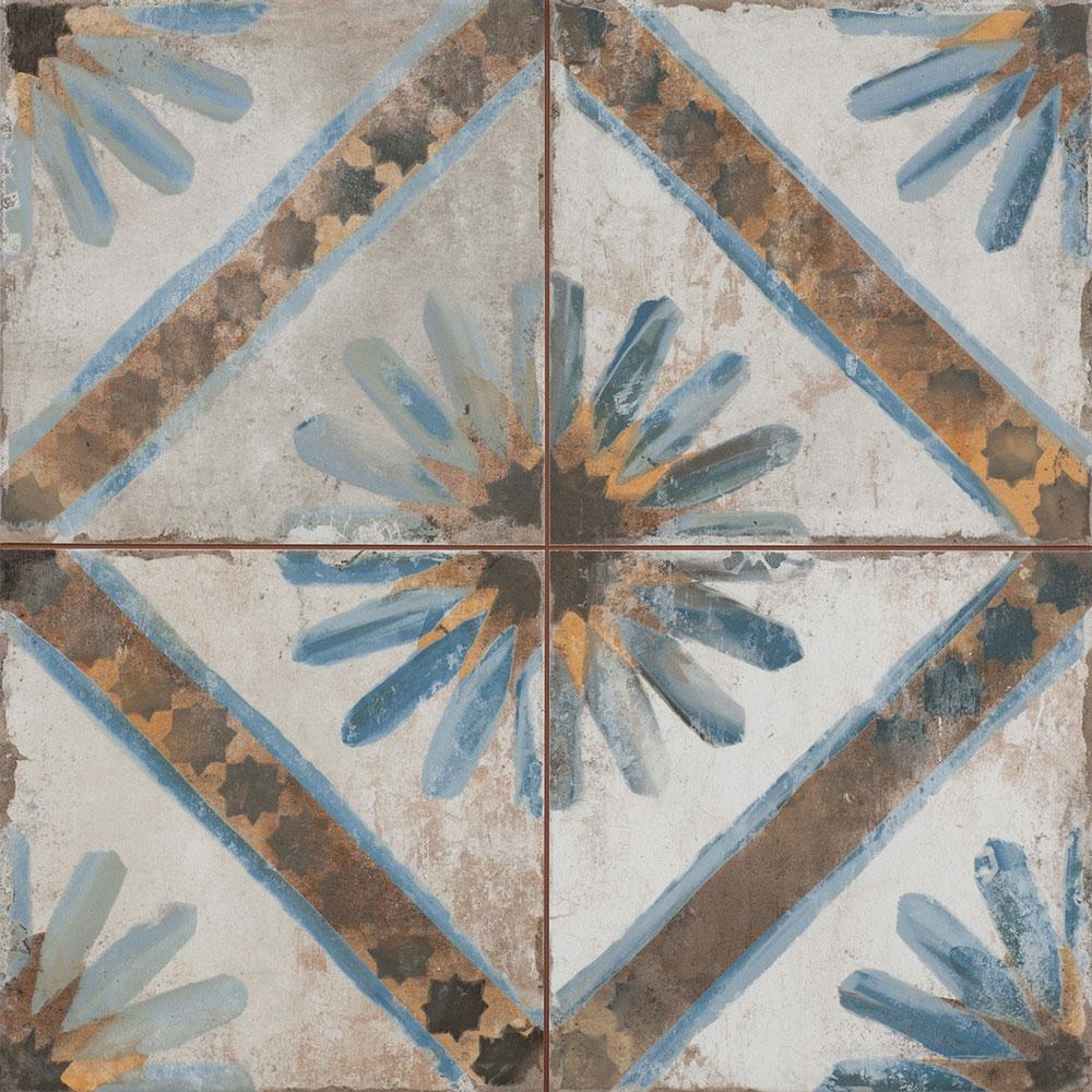 Majolica Bellflower Tiles