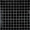 Bijou Square Gloss Black Small Mosaic Tiles