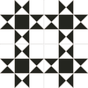 Black and White Statement Tiles