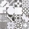 Malone Black & White Tiles