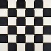 Churchill Snow & Midnight Chequer Mosaic Tiles